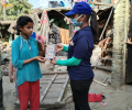 Asha provides menstrual hygiene products to young girls