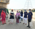 Asha COVID-19 Emergency Response: Dr Kiran visits slum families located by the riverbed