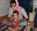 Asha COVID-19 Emergency Response: Dr Kiran inaugurates the 'Asha High Energy Laddoo'