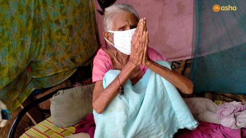 Asha COVID-19 Emergency Response: Reusable cloth masks distributed to the neediest within all Asha slums