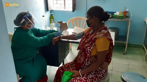 Asha COVID-19 Emergency Response: Antenatal care provided to pregnant Women in Asha slums