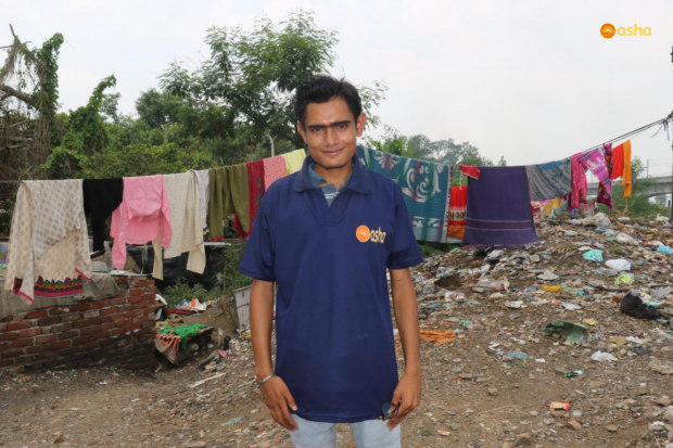 Asha COVID-19 Emergency Response: Asha Ambassador Santosh from Zakhira narrates the horrible situation in his slum during the lockdown