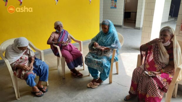 Asha COVID-19 Emergency Response: Asha focuses on caring for the elderly in the slums