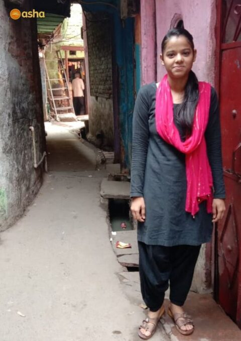 Asha student Naaz looks forward to pursuing Journalism at Delhi University