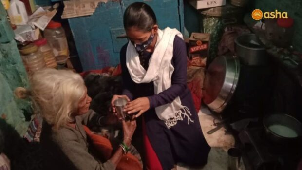 The power of touch in Asha communities