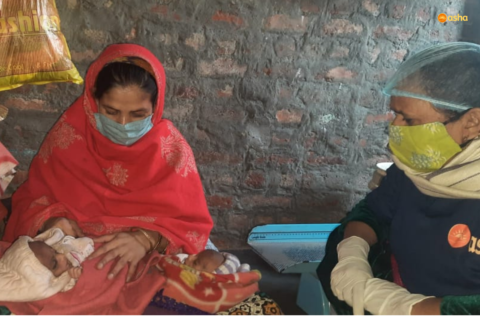 Malnourished woman delivers healthy twin babies through Asha's intervention