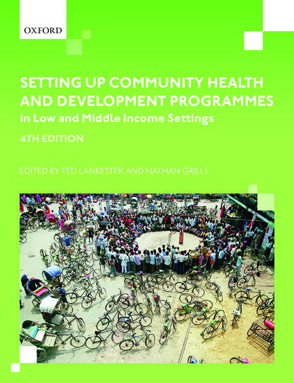 Dr Ted Lankester publishes a new book on Public health in developing countries